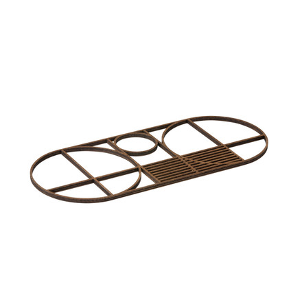Outline Trivet by ferm Living in Oval