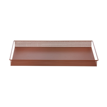 Metal Tray Large by ferm Living in Red