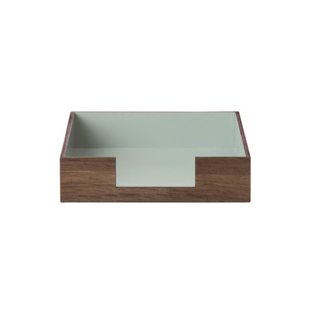 Letter Tray by ferm Living in Mint