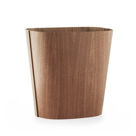 Tales of Wood paper bin by Normann Copenhagen made from walnut