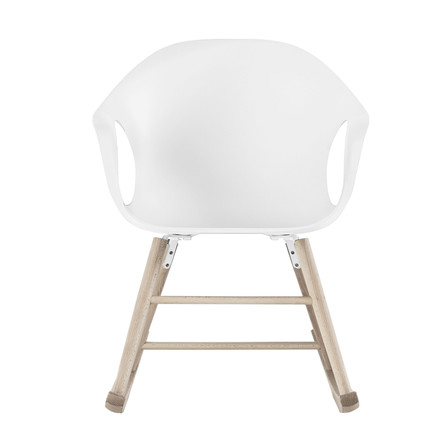 Kristalia - Elephant rocking chair in white