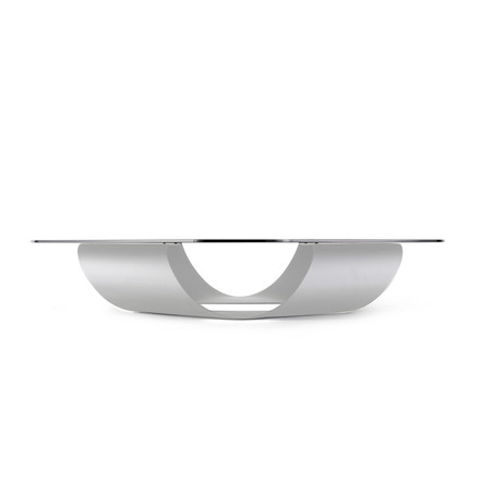 Kristalia - Möbius couch table 90 x 90 cm in white
