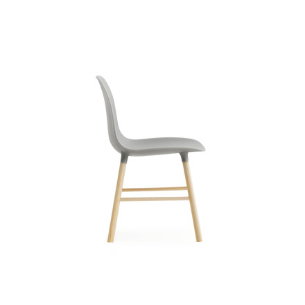Form Chair miniature by Normann Copenhagen made of oak in grey