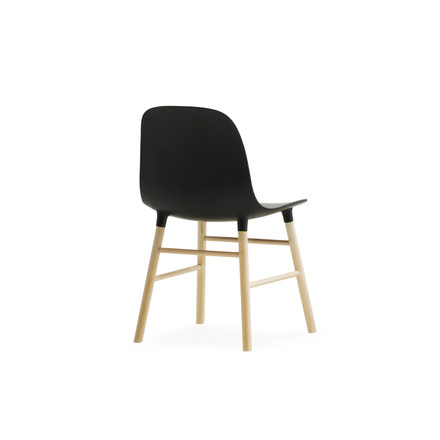 Form Chair miniature by Normann Copenhagen made of oak in black