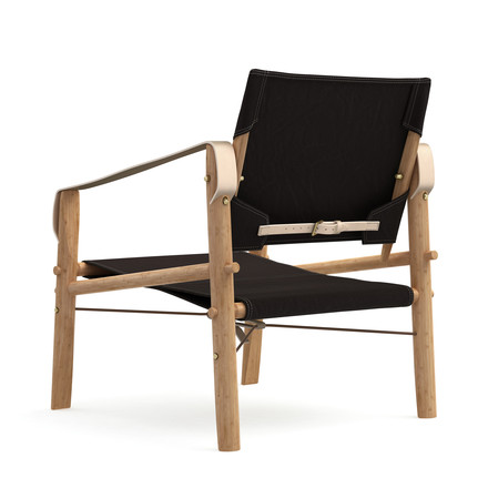 Nomad Chair by We Do Wood in black