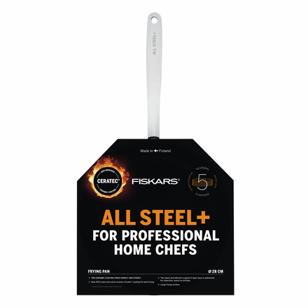 Fiskars - All Steel+ Frying Pan