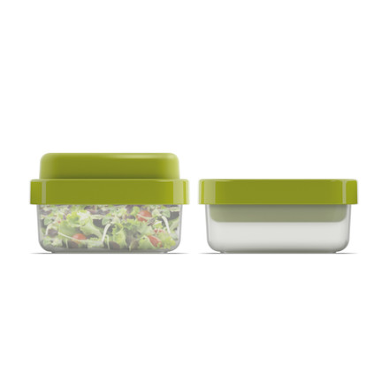 GoEat Salad Box by Joseph Joseph in green