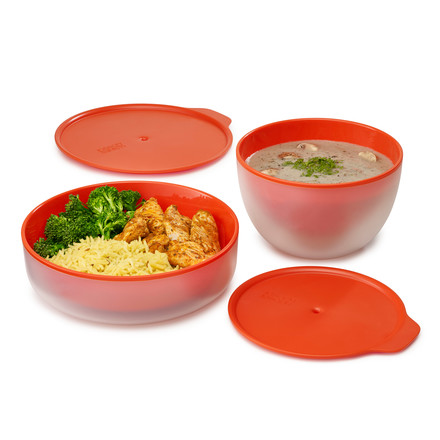 M-Cuisine Cool-touch Microwave Plate and Bowl by Joseph Joseph