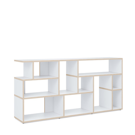 Pattern Rise Ivy shelf by Tylko in white