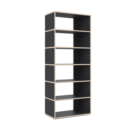 Ivy shelf Grid Stand by Tylko in black