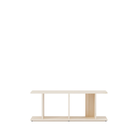 Ivy shelf Slant bench by Tylko made from solid maple