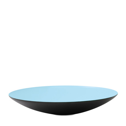 Normann Copenhagen - Krenit Bowl flat, light blue, 2,8 x Ø 16 cm