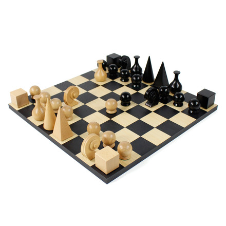 Klein & More - Man Ray - Chessboard and pawns