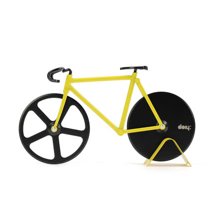 Doiy - Fixie Pizza Cutter, Bumblebee