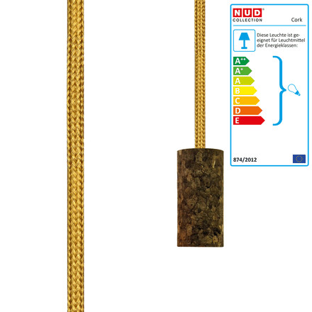 Cork Soil Gold Spire (TT-150) by NUD collection