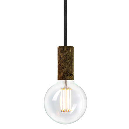 Cork Soil Raven (TT-09) by NUD collection with bulb