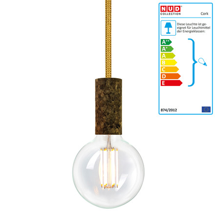 Cork Soil Gold Spire (TT-150)  by NUD collection with bulb