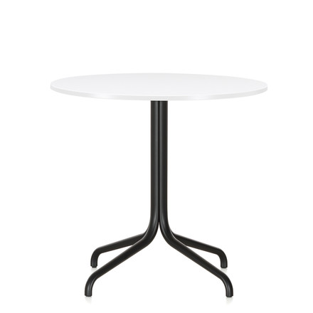 Belleville Bistro Table, round, Ø 79.6 cm by Vitra in white