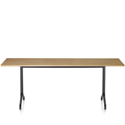 Belleville dining table indoor, rectangular, 200 x 80 cm by Vitra in natural oiled oak