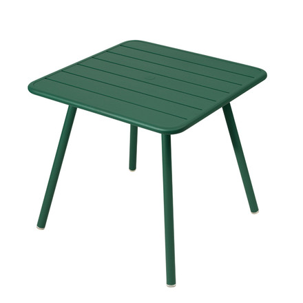 Luxembourg Table 80 x 80cm by Fermob in cedar green