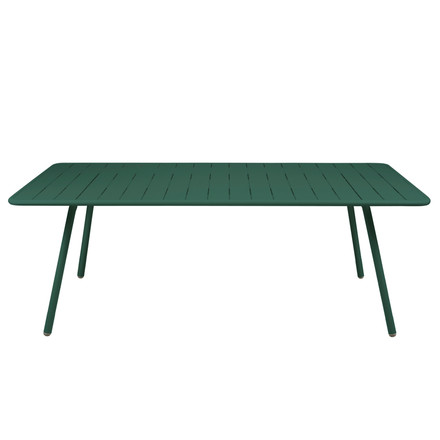 Fermob - Luxembourg Table, rectangular, 100 x 207 cm, cedar green