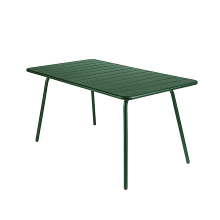 Fermob - Luxembourg Table, rectangular, 80 x 143 cm, cedar green