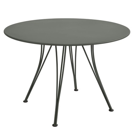Fermob - Rendez-Vous Table, round, Ø 110 cm, rosemary