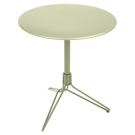 Fermob - Flower Bistro Table Round, Ø 67 cm in lime green