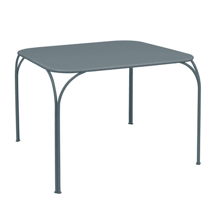Kintbury Table by Fermob in storm gray