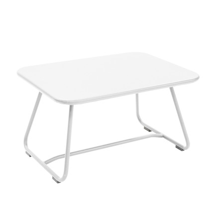 Sixties Table from Fermob in Cotton White