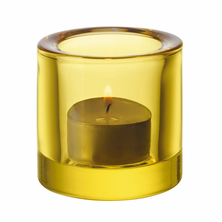 Iittala - Kivi  Votive Candle Holder, lime / lemon