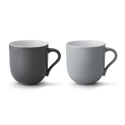 Stelton - Emma Mug large (set of 2), grey