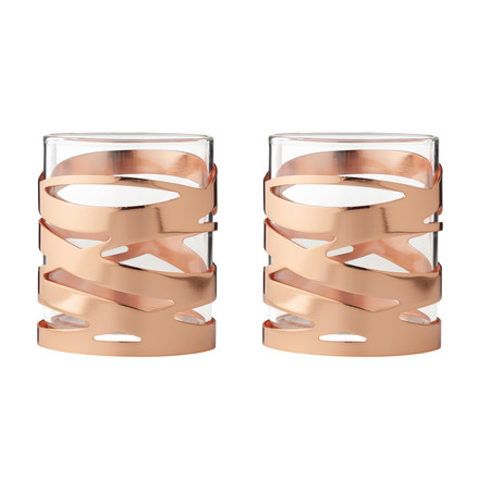 Tangle tea light holder (set of 2) by Stelton