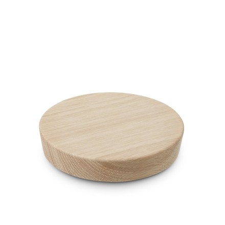 Oak Lid for the Grand Cru Storage Jar by Rosendahl