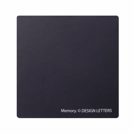 Design Letters - AJ Memory Game, backside of a tile