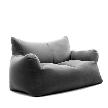 Checker XL Sofa Indoor by Sitting Bull in dark grey