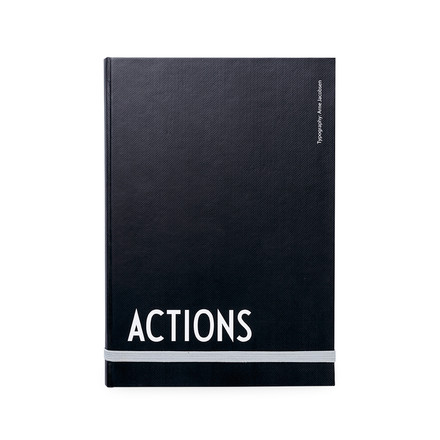 Design Letters - AJ Actions Notebook, A5
