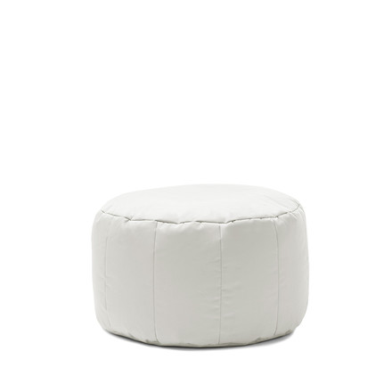 Shell Pouf Outdoor by Sitting Bull in light grey