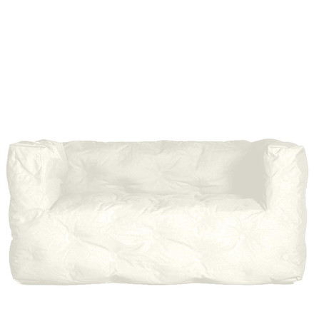 Couch I 2 seater by Sitting Bull in cream white