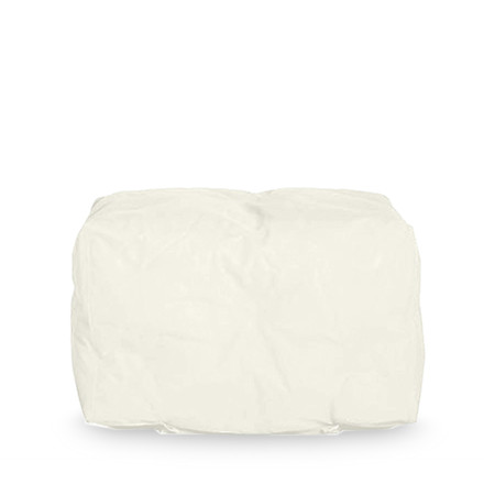 Couch I Pouf by Sitting Bull in cream white
