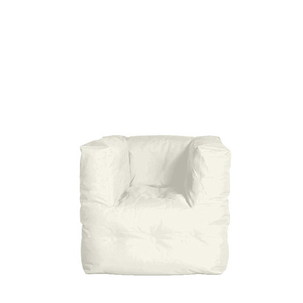 Couch I Armchair by Sitting Bull in cream white