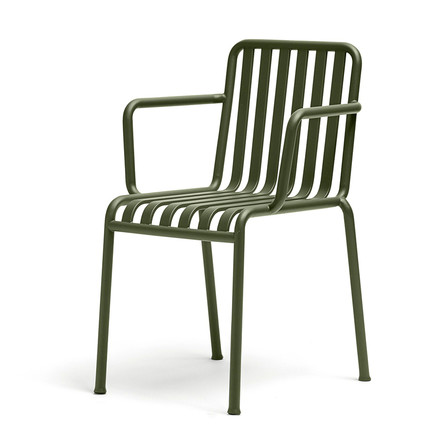 The Hay Palissade armchair in olive