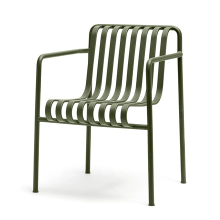 Palissade lounge armchair by Hay in olive