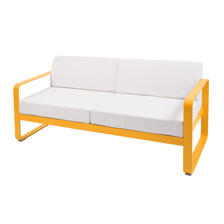 Bellevie Sofa by Fermob in honey