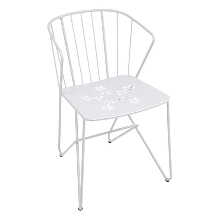 Fermob - Flower armchair, cotton white
