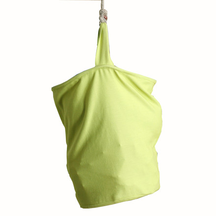 Fabric bucket for the debe.destyle Treehouse Bed by De Breuyn in lime green
