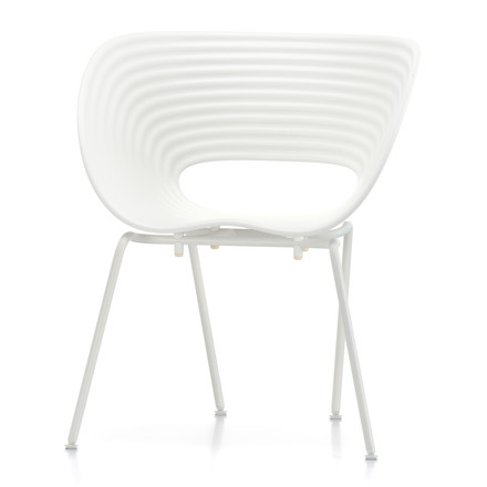 Vitra - Tom Vac powder-coated, ivory, white