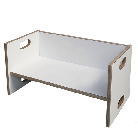 debe.detail Convertible Bench by de Breuyn in white