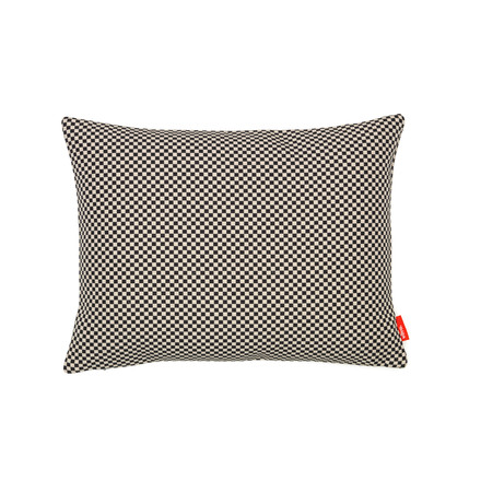 Pillow Minicheck, 30 x 40 cm by Vitra in black and white