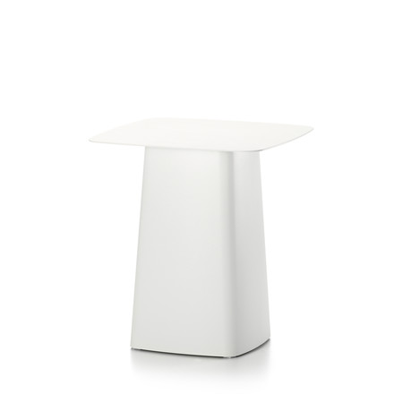 Vitra - Metal Side Table Outdoor, small, ivory